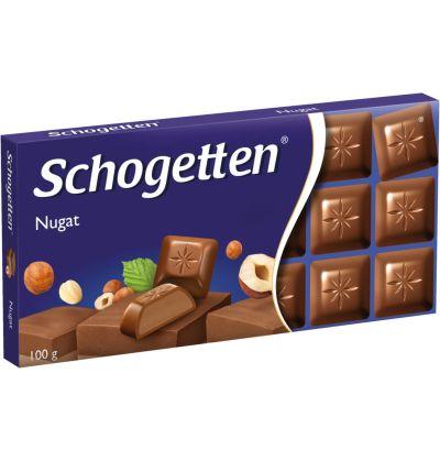 Bild av Schogetten Chocolate nougat 100g