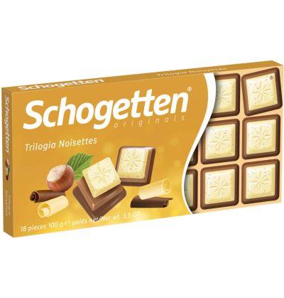 Bild av Schogetten Chocolate Trilogy 100g