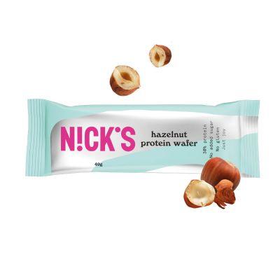 Bild av Nicks Protein Wafer- Hazelnut 40g