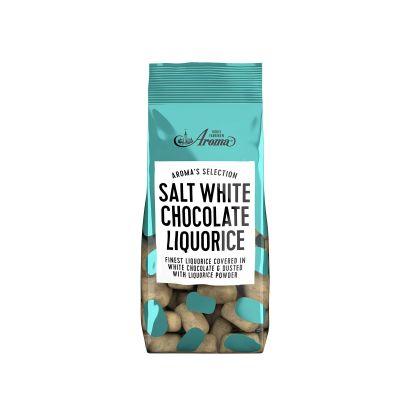 Bild av Aroma Selection, Salt White Chocolate Liquorice 100g