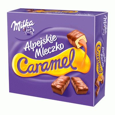 Bild av Milka Alpine Caramel 350g