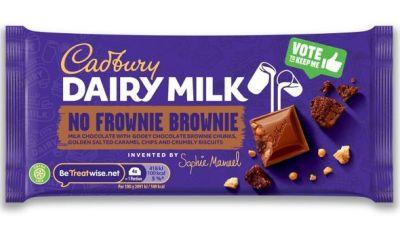 Bild av Cadbury Dairy Milk Inventor No Frownie Brownie 110g
