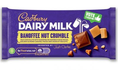 Bild av Cadbury Dairy Milk Inventor Banoffee Nut Crumble 110g
