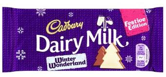 Bild av Cadbury Dairy Milk Winter Wonderland Chocolate Bar 100g