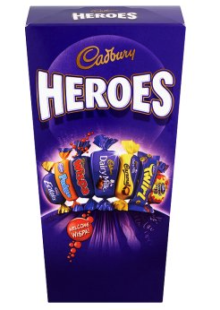Bild av Cadbury Heroes Chocolate Carton 185g