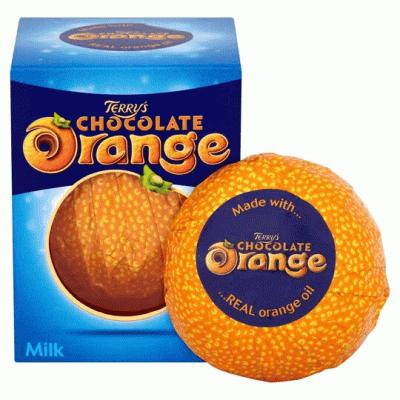 Bild av Terrys Chocolate Orange Milk Chocolate Box 157G