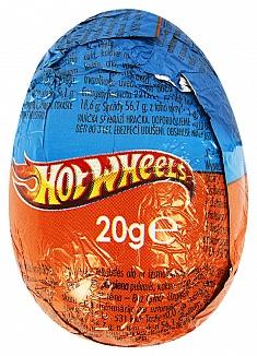 Bild av Hot Wheels Chokladägg