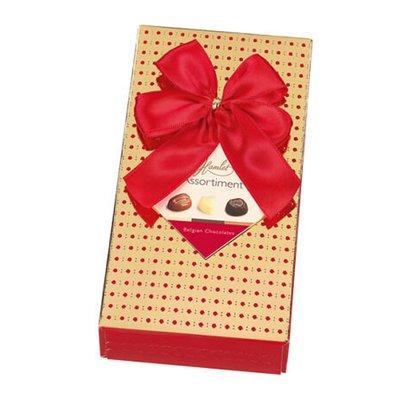 Bild av CHOKLADBUDET - Gatsby guldiga ask med röda prickar