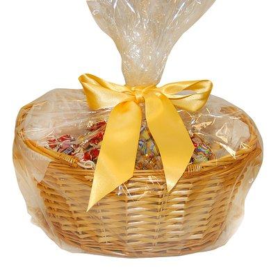 Bild av CHOKLADBUDET - Påskkorg med 2 kg choklad