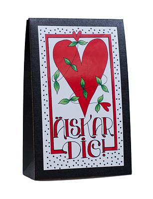 Bild av Presentask med choklad 'Älskar Dig'