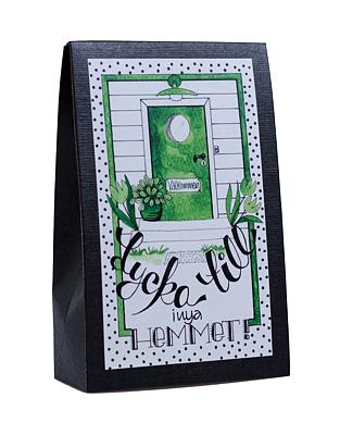 Bild av Presentask med choklad 'Lycka Till i nya Hemmet!'