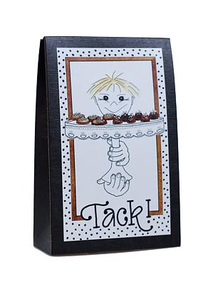 Bild av Presentask med choklad 'Tack'