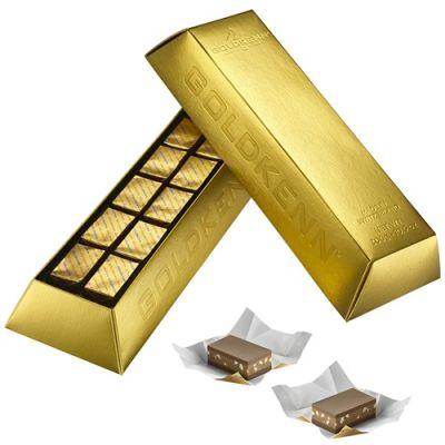 Bild av Choklad - Guldtacka, wienernougat, Guld