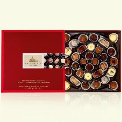 Bild av Chokladask med tryfflar & praliner - Lauenstein, 400 g