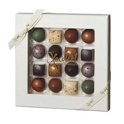 Bild av Chokladask, 16 praliner - Xocolatl, Vit