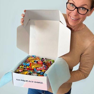 Bild av Låda med godis