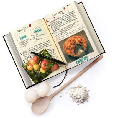 Bild av My Family Cookbook - Personlig kokbok, Svart