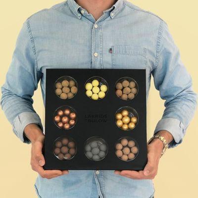 Bild av Presentask med lakrits - Bülow Selection Box, Svart