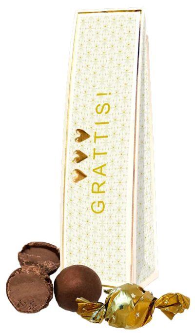 Bild av Chokladhälsning Grattis