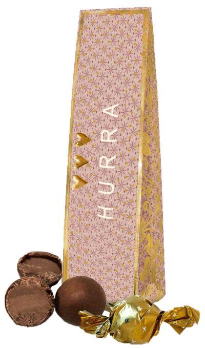 Bild av Chokladhälsning Hipp Hurra