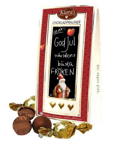 Bild av God Jul Fröken - Lyxiga chokladpraliner