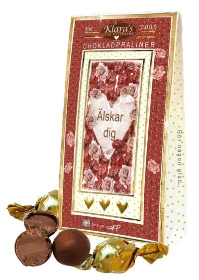 Bild av Älskar Dig - Lyxiga chokladpraliner