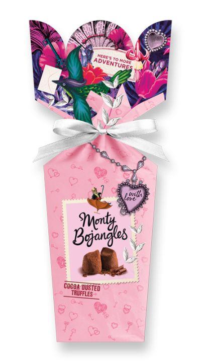 """Bild av """"With Love"""" lyxiga chokladtryfflar från Monty Bojangles"""