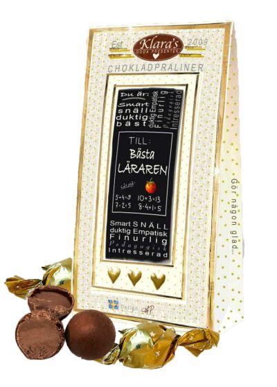 Bild av Till Läraren - Lyxiga chokladpraliner