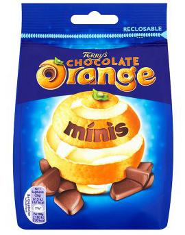Bild av Terrys Chocolate Orange Minis Sharing Bag 125g