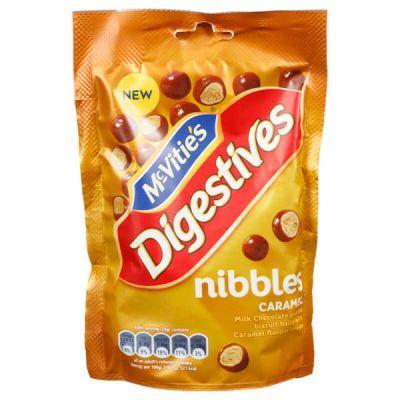 Bild av McVities Digestives Nibbles Caramel 120g