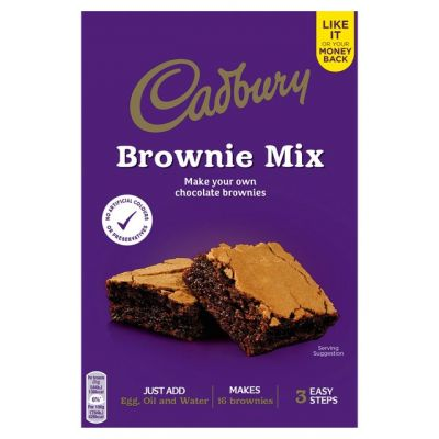 Bild av Cadbury Chocolate Brownie Mix 350g