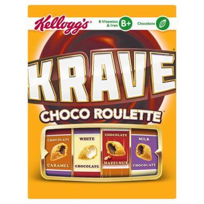 Bild av Kelloggs Krave Choco Roulette 375g