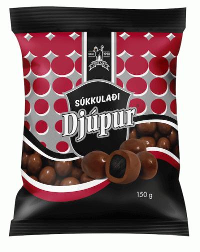 Bild av Súkkulaði Djupur 150g