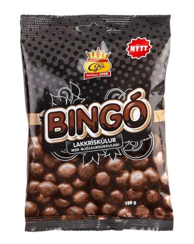 Bild av Bingókúlur med mjölkchoklad 150g