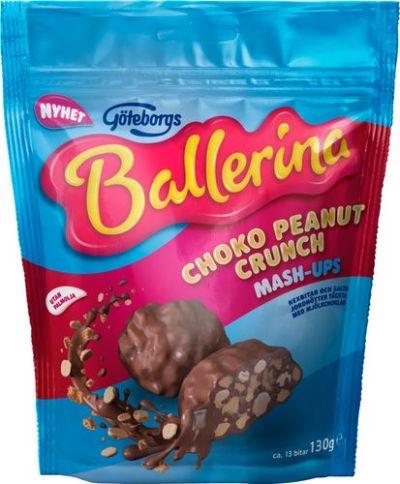 Bild av Ballerina Mash-ups Choko Peanut Crunch 130g