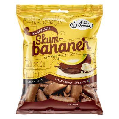 Bild av Aroma Skumbananer Choklad 110g