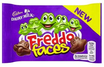 Bild av Cadbury Freddo Faces 35gram