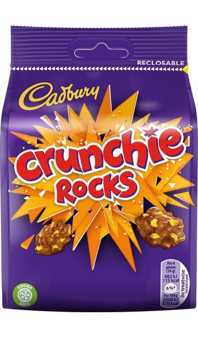 Bild av Cadbury Crunchie Rocks Bag 110g