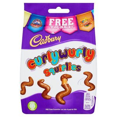 Bild av Cadbury Curly Wurly Squirlies Bag 110g