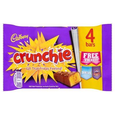 Bild av Cadbury Crunchie 4-Pack 100g
