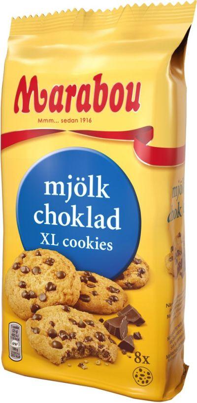 Bild av Marabou XL Cookies Mjölkchoklad 184g