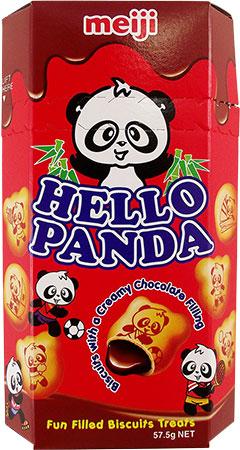 Bild av Meiji Hello Panda Creamy Chocolate 50gram