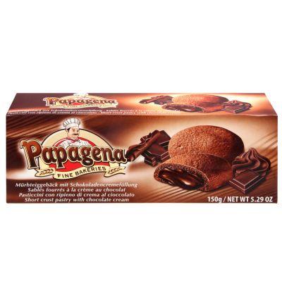 Bild av Papagena Kakor med chokladfyllning 150g