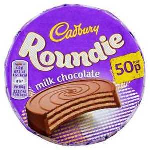 Bild av Cadbury Roundie Milk Chocolate Biscuit 30g