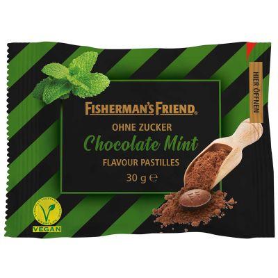 Bild av Fishermans Friend Chocolate Mint 25g