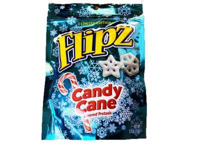 Bild av Flipz Candy Cane Pretzel Snowflakes 212g