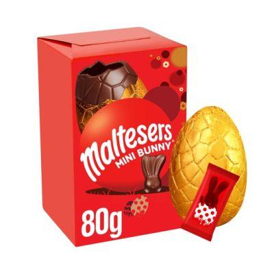 Bild av Malteser Mini Milk Chocolate Easter Egg 80g
