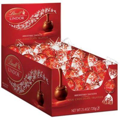 Bild av Lindor Milk Chocolate Truffles 60st