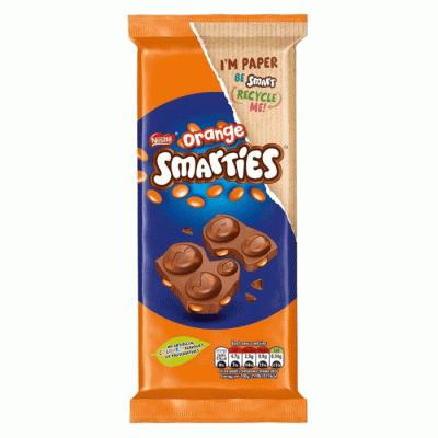 Bild av Smarties Orange Chocolate Bar 90g