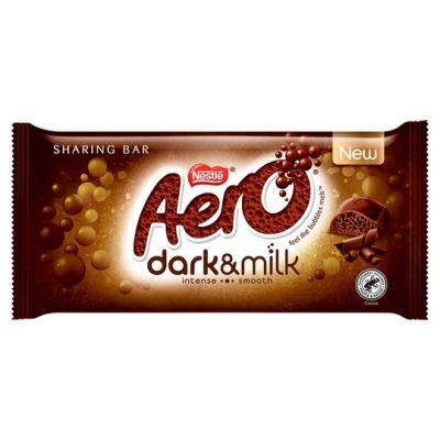 Bild av Nestle Aero Dark & Milk 90g